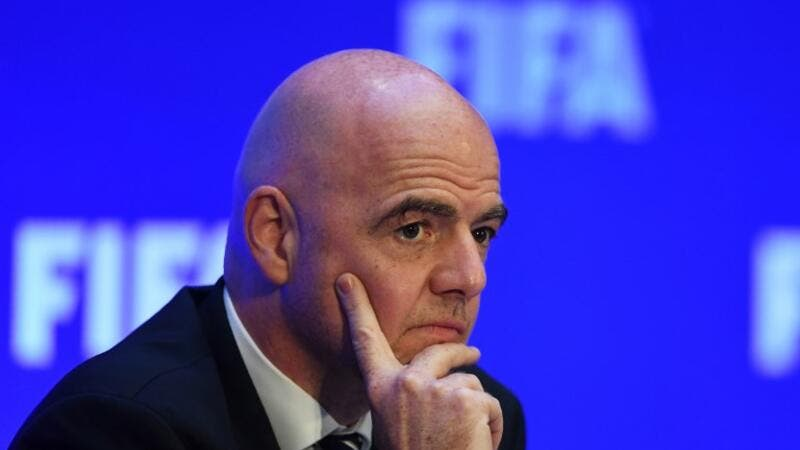 Infantino said an expanded tournament would see Asia's allocation rise to 8.5 places from 4.5.