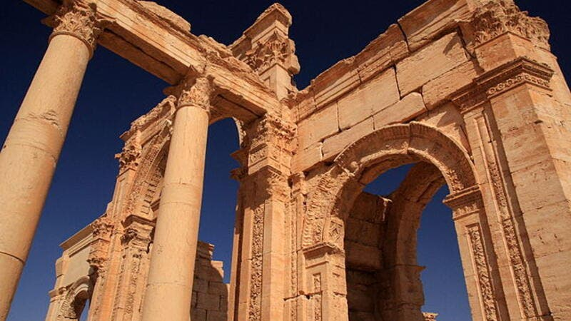 The ancient city of Palmyra, large parts of which were destroyed by ISIS (Wikimedia Commons)