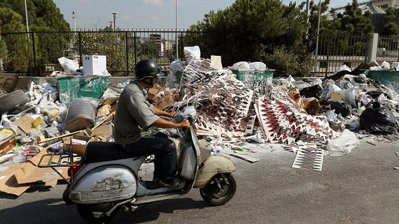 Eco-tourists headed for guesthouses in rural areas in September and October while Beirut continued to grapple with the trash crisis. (AFP/File)