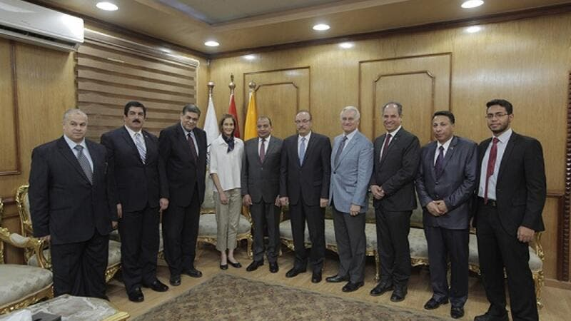 AUC, Usaid and Beni-Suef University Celebrate the Launch of