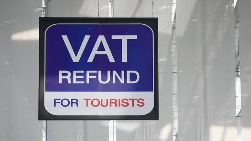Designated spaces will be provided where tourists can easily reclaim taxes. (Shutterstock)