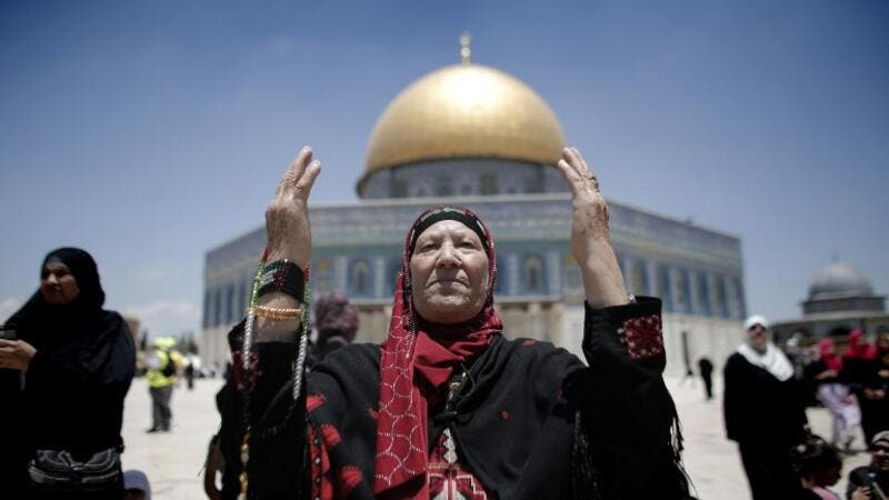 "Israeli authorities blacklisted the women and said they ""cause trouble and damage"" at the site. (AFP/File)"