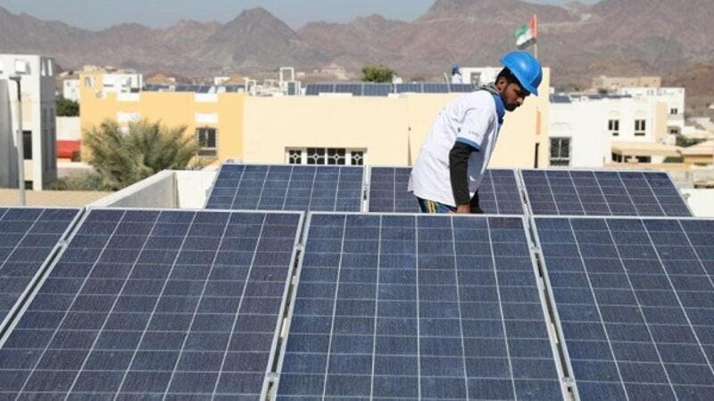 Hatta Solar retrofit project.