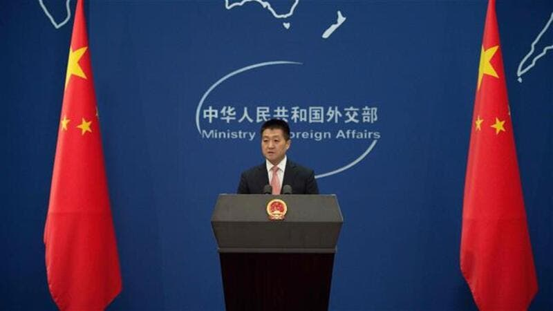 Chinese Foreign Ministry spokesman Lu Kang (AFP/File Photo)