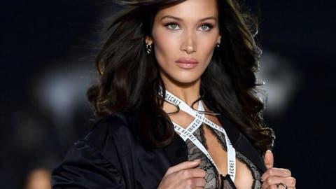 Bella Hadid Stars In A Versace Campaign Al Bawaba