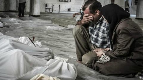 Syria has conducted chemical weapons attacks on civilians in Eastern Ghouta (AFP/File Photo)