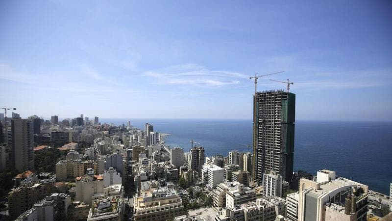 West Beirut seen from the Holiday Inn hotel in the Lebanese capital  (AFP/File Photo)