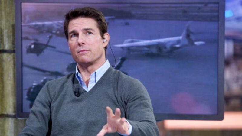 Tom Cruise scales the highest heights.