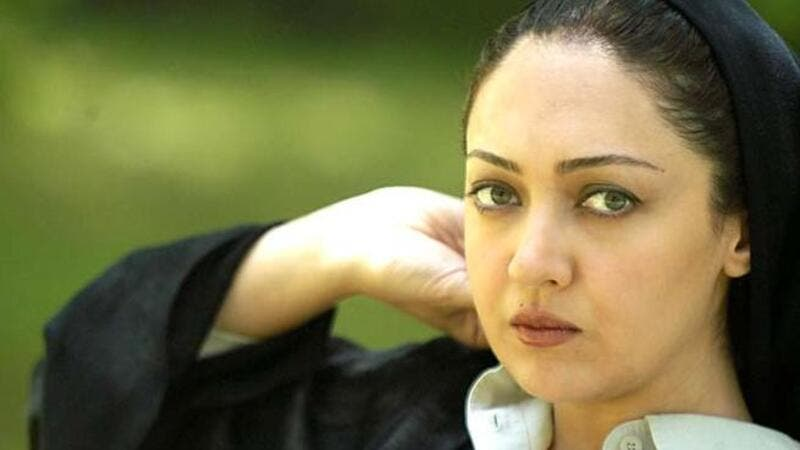 Iranian actress Niki Karimi.