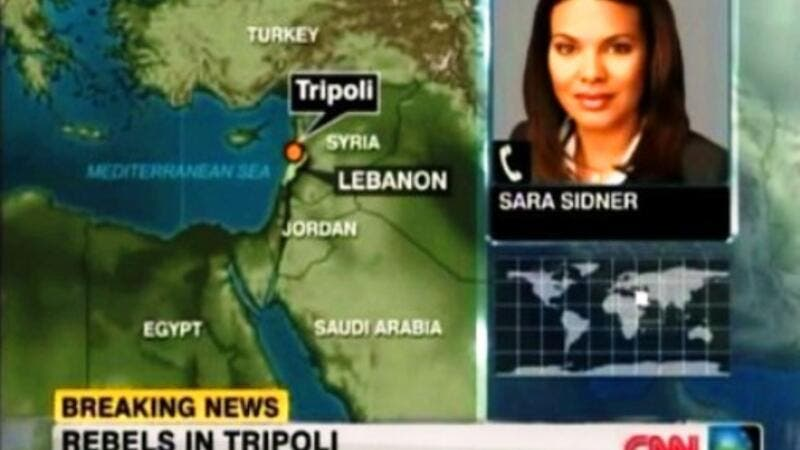 Tripoli of North Lebanon gets dragged onto the Libyan crisis map, just when we thought Beirut had become a place of peace.