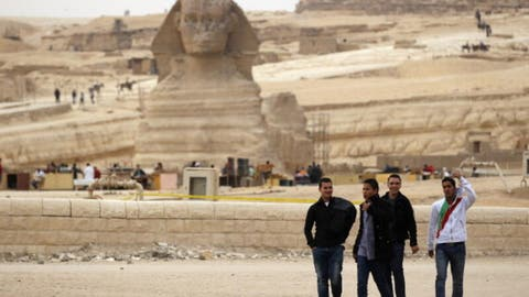 What A Debbie Downer Egypt Tourism Totally Collapsed Says Minister Al Bawaba