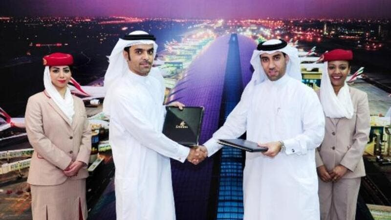 Emirates National Development Programme and the Emirates Group sign