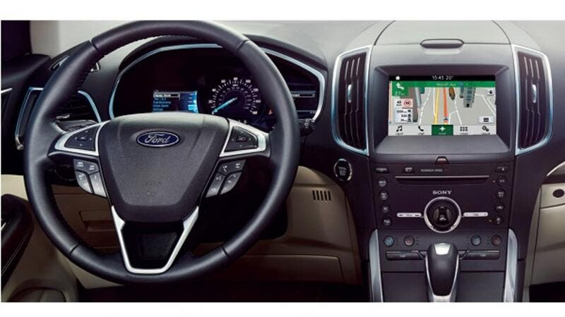 New design  New interface  New languages  New features: Ford brings