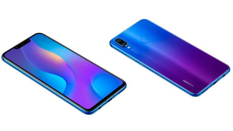 HUAWEI nova 3i is equipped with the newest generation of FullView display of 6.3-inch.