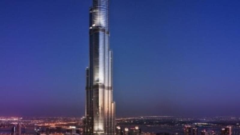 Artist impression of Emaar's The Address Residence Sky View