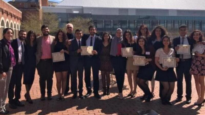 AUC's Cairo International Model Arab League team participated in the 34th U.S. National Universities Model Arab League at Georgetown University and won four Distinguished Delegation awards for different councils.