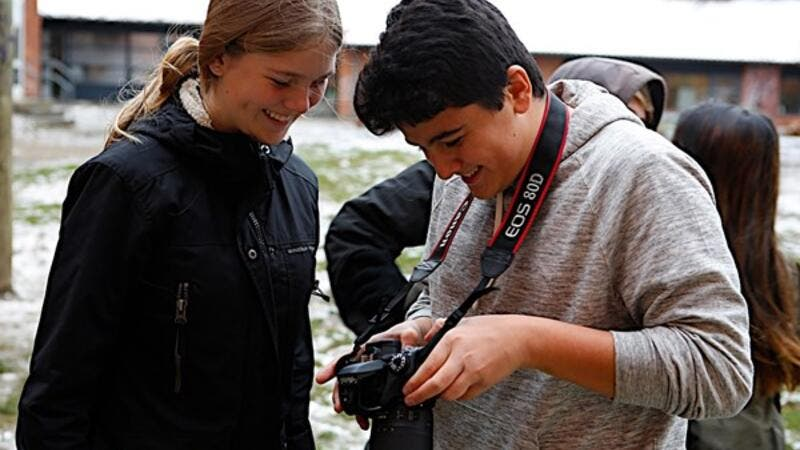Canon Europe takes its Young People Programme.