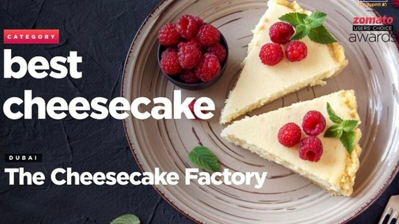The Cheesecake Factory won awards for Best Cheesecake in Dubai and Restaurant of the Year Casual Dine in Abu Dhabi.