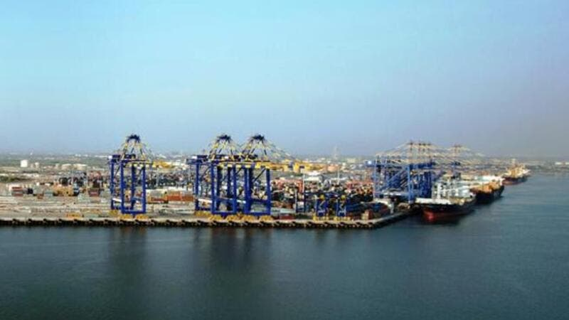 Terminal 1 and Terminal 2 of Port Qasim, DP World Karachi