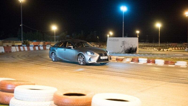 Markazia Lexus held an activation event offering people the chance to test-drive a selection of their luxury cars on the nearby Jordan Speed Center (JSC) track.