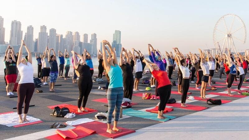 Dubai Fitness Challenge aims to take Dubai one step closer to making it the most active city in the world.