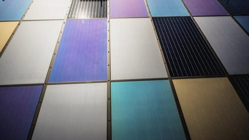 Emirates Insolaire Coloured Solar Panels