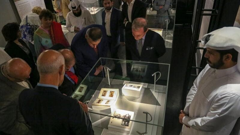 The exhibition allows visitors to explore how political events during the French mandate in Syria affected the country's cultural heritage.