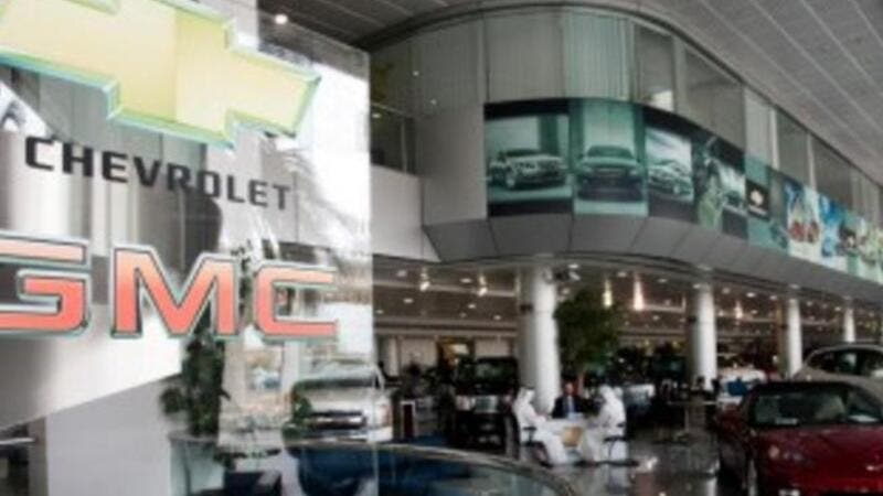 One of the GM dealerships