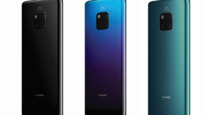 HUAWEI Mate 20 Series also features groundbreaking improvement on battery life.