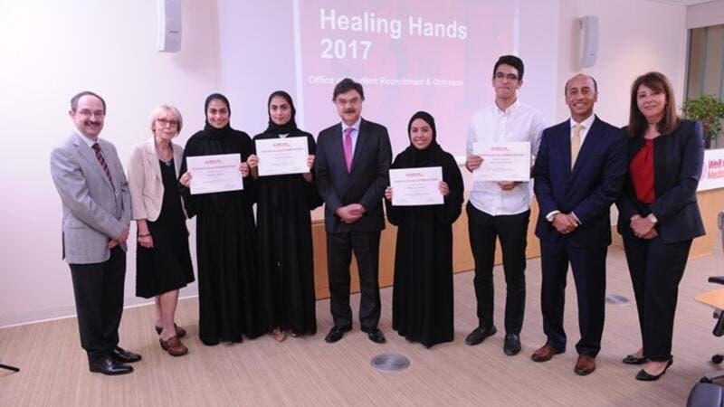 Weill Cornell Medicine Qatar Inspires Students to Follow a