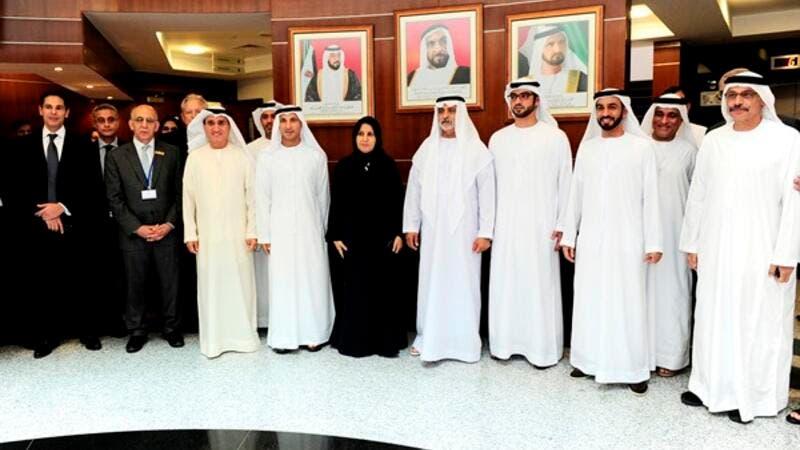 Sheikh Nahyan Al Nahyan Inaugurates Abu Dhabi University's