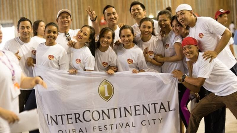 IHG® employees Celebrate Service Week with an Inter-Hotel