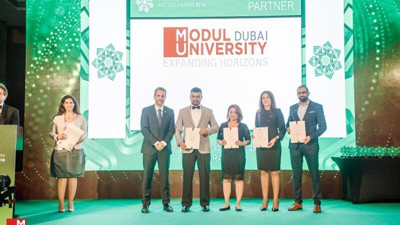 MODUL University Dubai awarded a 100% scholarship to one lucky winner to pursue the MSc programme at the university.