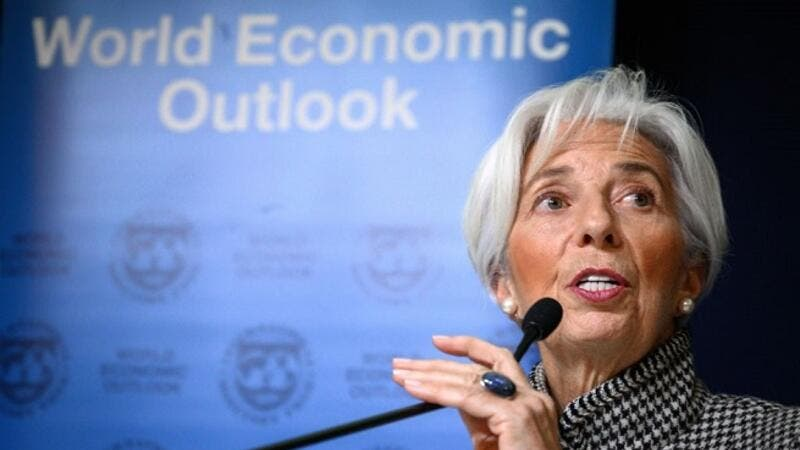 The International Monetary Fund's managing director Christine Lagarde said that Egypt has made substantial progress as evident in the success achieved in macroeconomic stabilisation. (AFP)