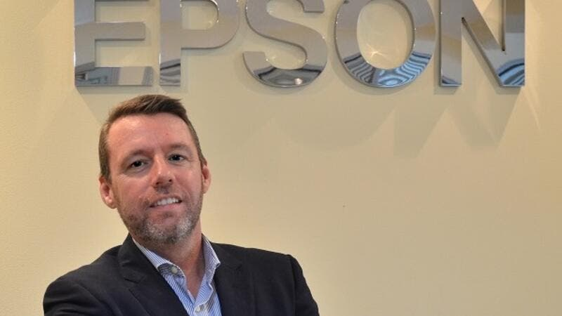 Jason Whiley, director of sales, Epson Middle East