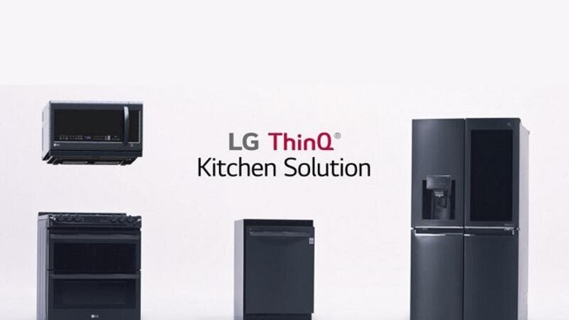 LG kitchen appliances such as the InstaView ThinQ™ refrigerator, EasyClean® oven range and QuadWash™ dishwasher maximize efficiency through full connectivity via the SmartThinQ application.