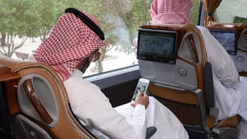 "The non-stop buses represent a ""modern shift"" after launching in Riyadh and Jeddah in February. (Courtesy of Gulf Business)"