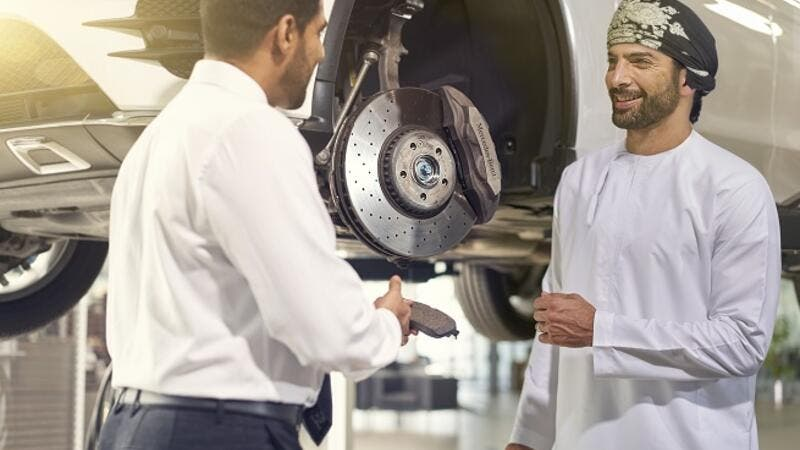 Mercedes-Benz genuine brake pads are perfectly designed to work with Mercedes-Benz genuine brake discs.