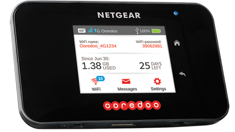 Ooredoo the first to introduce Netgear Category 9 Router in