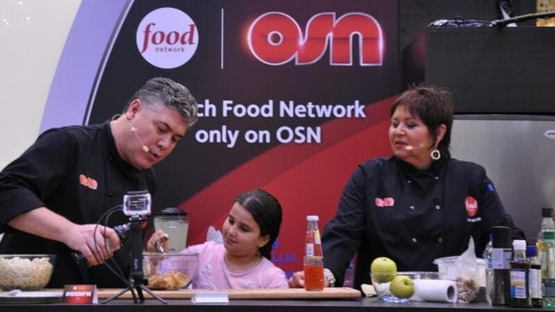 OSN hosts Food Network and Travel Channel Celebrity Chefs at