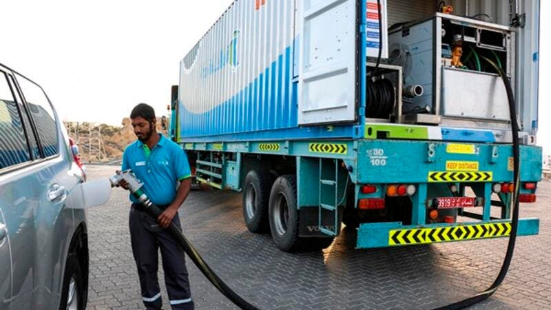 Oman Oil Marketing Company  - Mobile Filling Stations