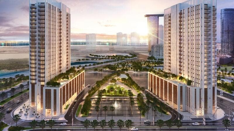 Residents will enjoy fantastic views over Reem Island and benefit from the spacious pocket park that sits between and connects the two towers.