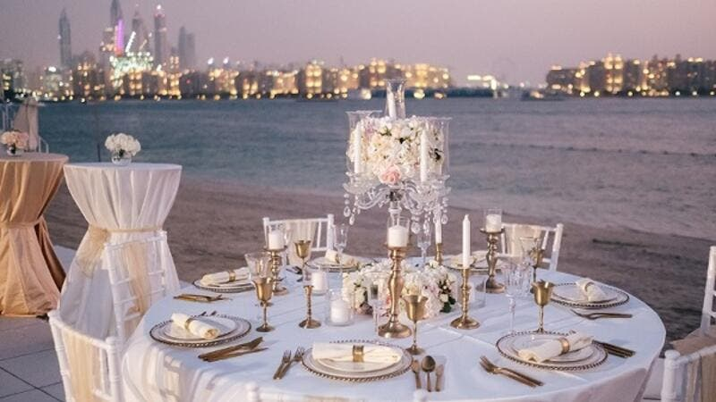 Rixos The Palm Dubai is welcoming all brides-to-be to the most secluded wedding location!