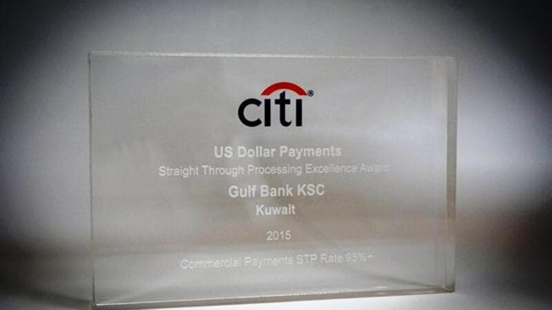 STP citibank award