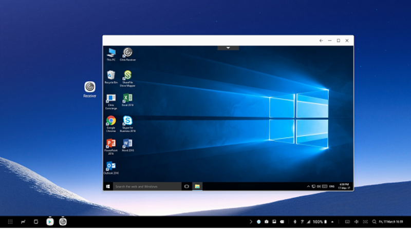 Citrix collaborates with Samsung to deliver desktop experience on