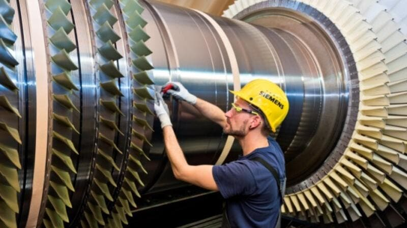 Siemens will deliver two SGT5-4000F gas turbines and additional key power generation equipment for the Sabiya Extension 3 combined cycle power plant in Kuwait.