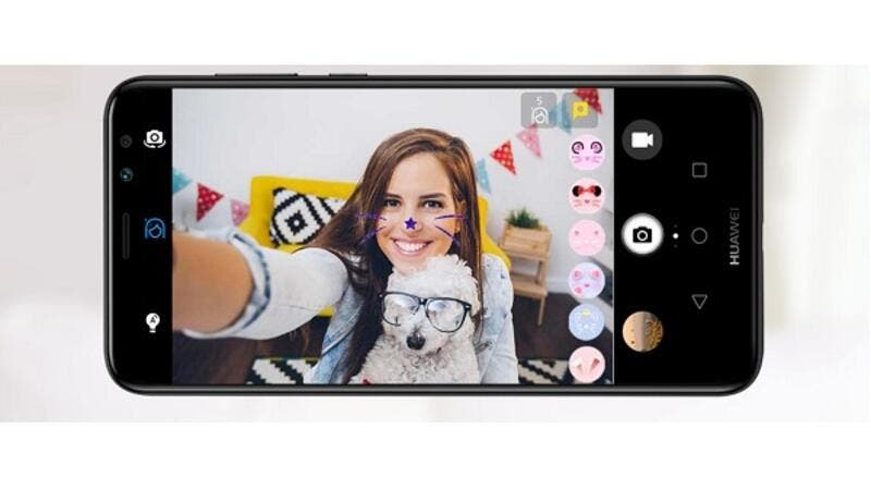 Huawei Mate 10 Lite has an upgraded version of face detection.