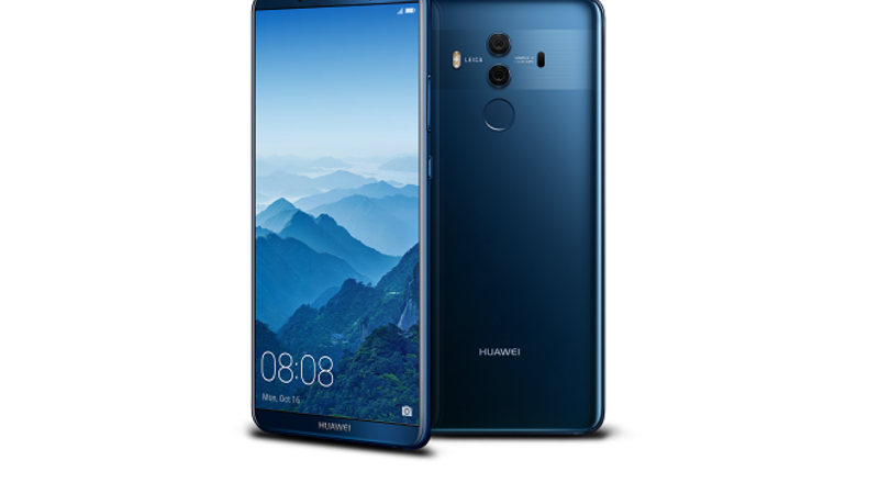 Mate 10 Pro features the latest in innovative software, hardware and security, in addition to AI technologies.