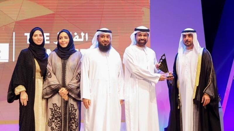 DED-Ajman's winning smart application was recognized for its many features, including the online services that they offer via the department's website and through the smart app itself.