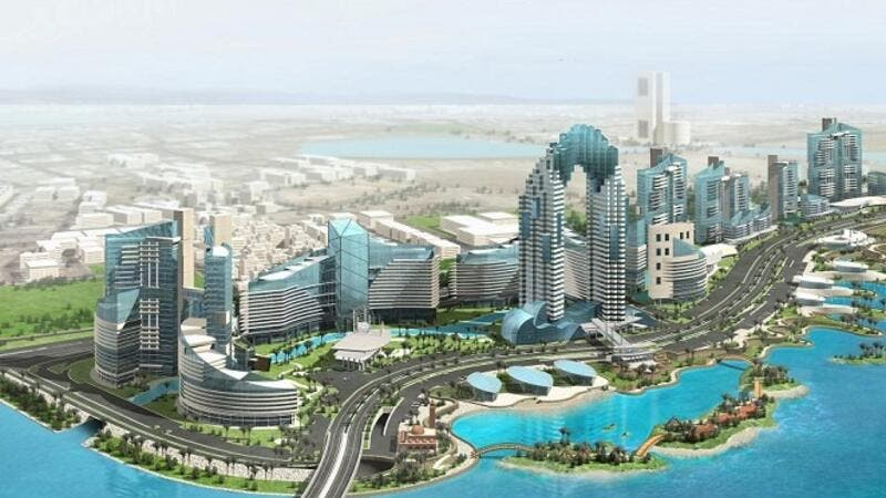 The new Jeddah Downtown. (Courtesy of The Saudi Gazette)